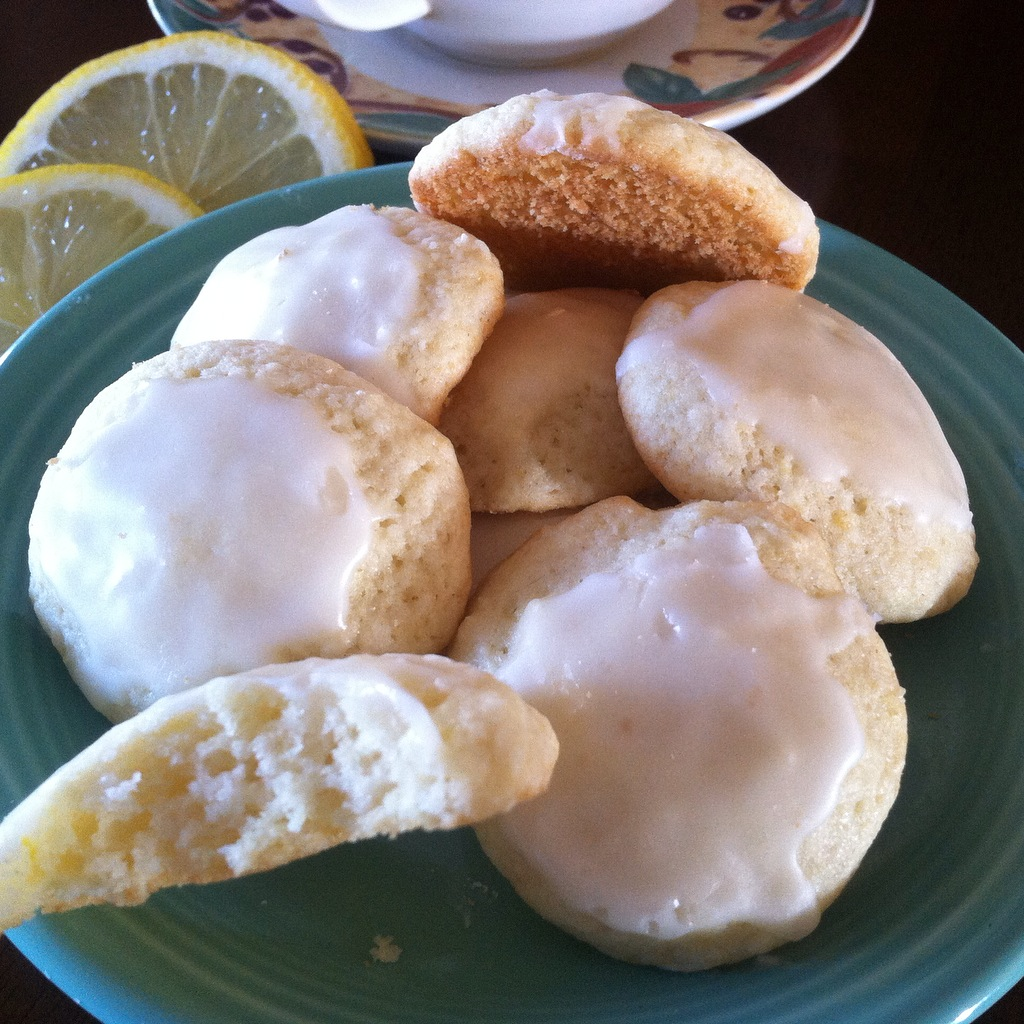 Lemon Tea Cookies cover picure